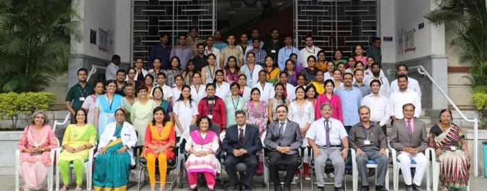 Group Photo, BJGMC Clinical Research Site, 2016, Pune, India